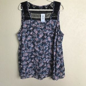 NWT Torrid Double Layer Tank Top Size 3